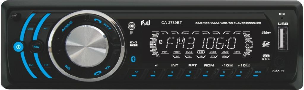 F&U CA-2789BT Ηχοσύστημα 1DIN με Bluetooth