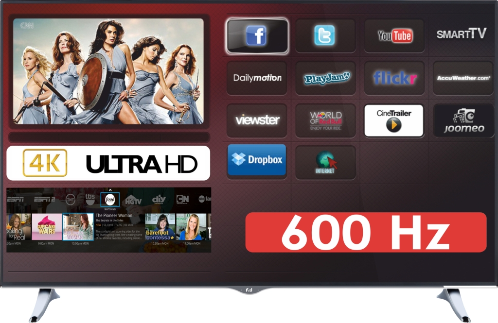 F&U FL2D4901UH 4K ULTRA HD Smart TV 49 ιντσών