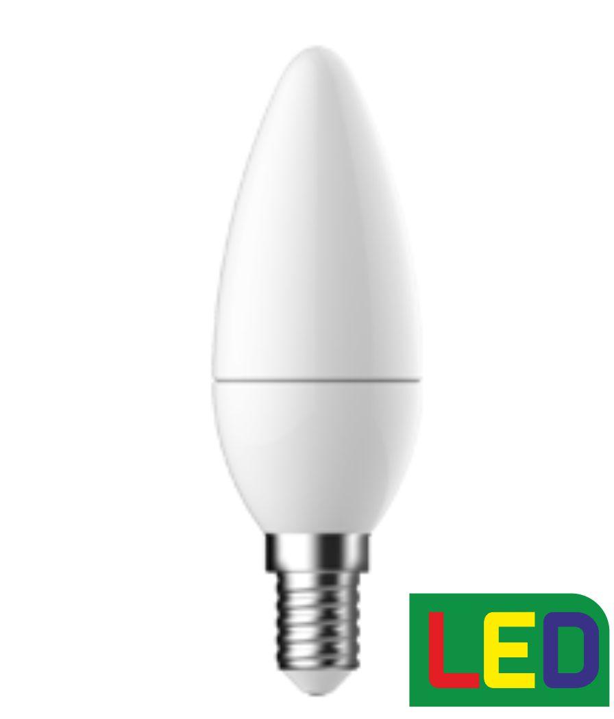 F&U L-C56A4 LED ΚΕΡΙ 5.6W E14