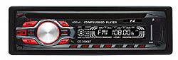 F&U CD-3590BT Ηχοσύστημα 1DIN με CD player & Bluetooth