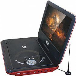 F&U DVT98607 Φορητή Τηλεόραση/DVD 9 ιντσών