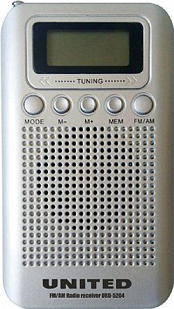 UNITED URD5204 Φορητό ραδιόφωνο