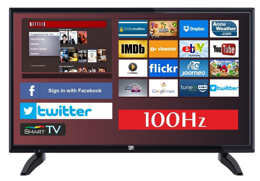 F&U FLS32700N SMART LED TV 32 ιντσών