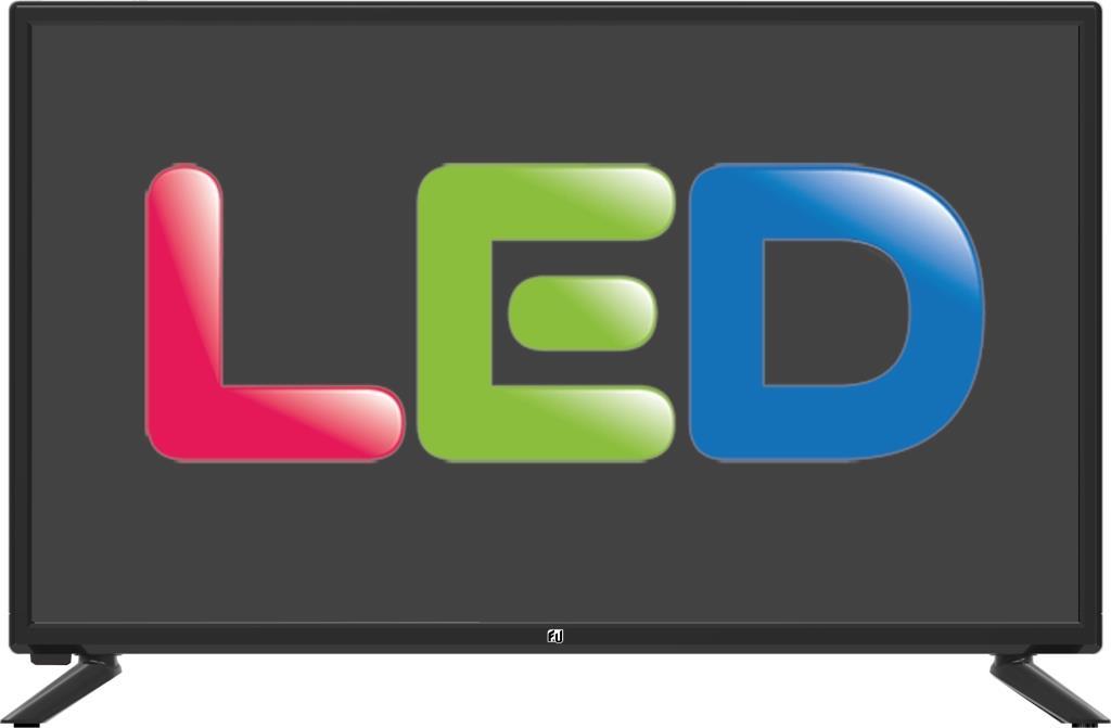 F&U FL24105 LED TV 24 ιντσών