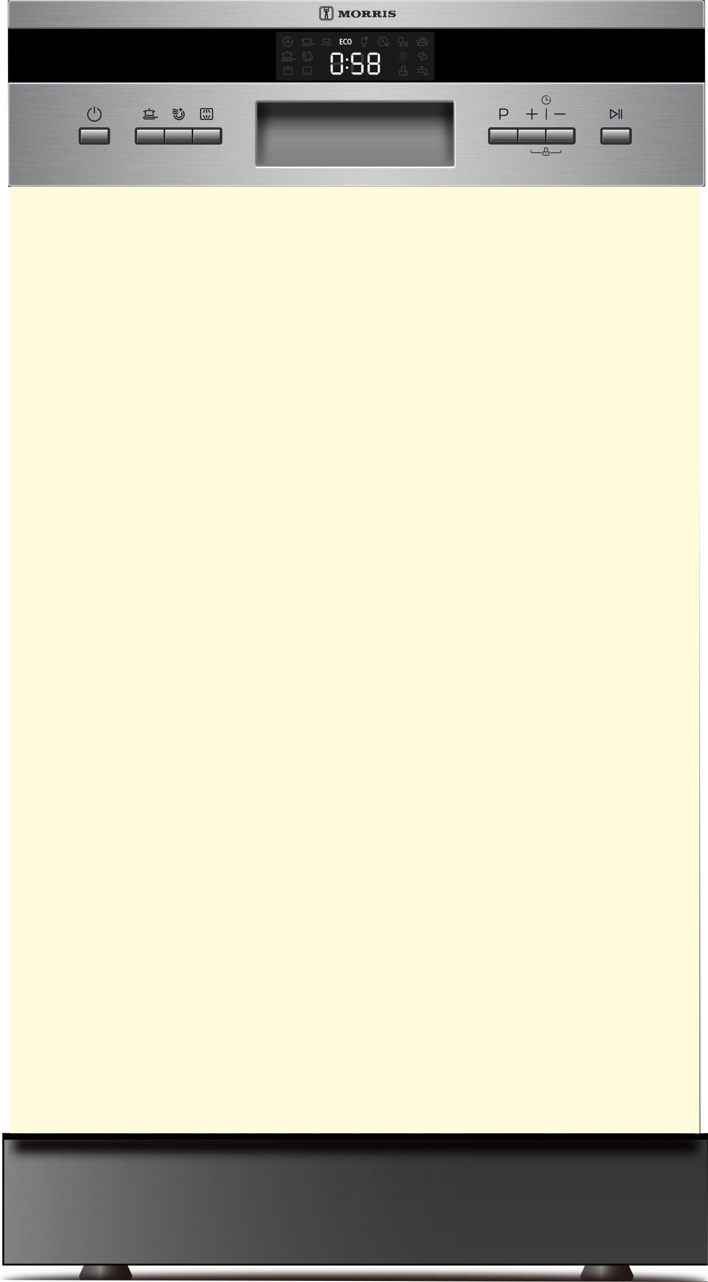 MORRIS SII-45107 ΠΛΥΝΤΗΡΙΟ ΠΙΑΤΩΝ 45ΕΚ ΗΜΙ-ENTOIXIZOMENO