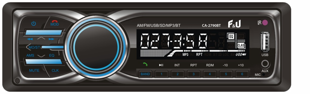 F&U CA-2790BT Ηχοσύστημα 1DIN με Bluetooth