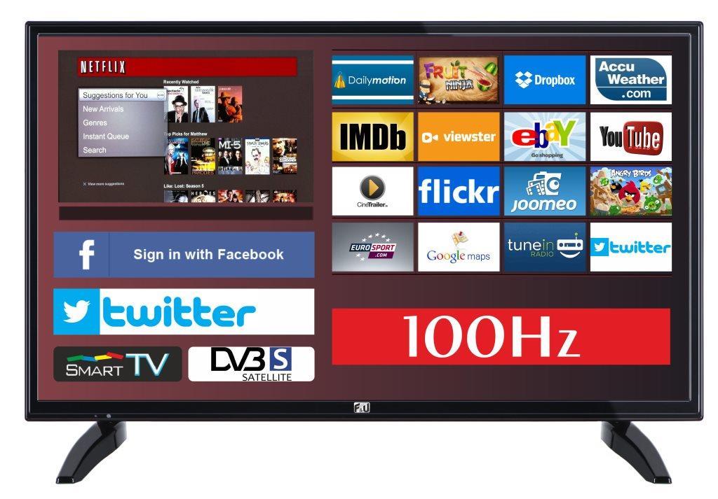 F&U FLS32701NS SMART LED TV 32 ιντσών