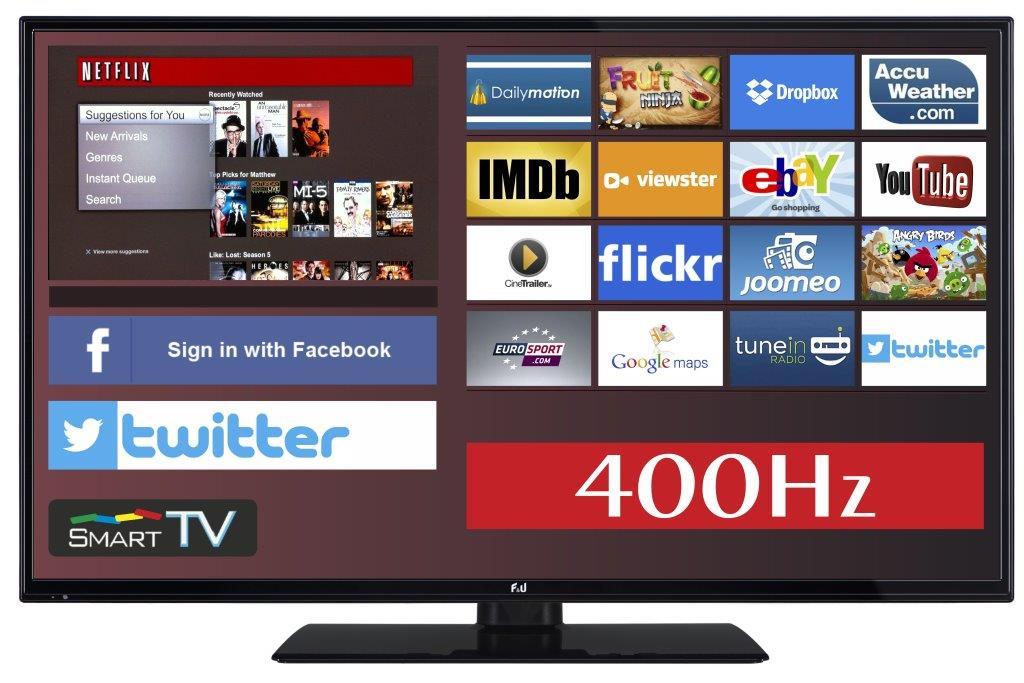 F&U FLS48700N Smart LED TV 48 ιντσών