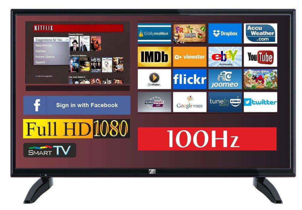 F&U FLS32720N SMART LED TV 32 ιντσών