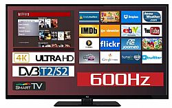 F&U FL2D5003UH 4K ULTRA HD Smart TV 50 ιντσών