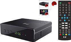 F&U MPF3573HU Δέκτης Ψηφιακής τηλεόρασης HD DVB-T2 με τηλεχειριστήριο 2 χρήσεων (Τηλεόραση και δέκτης)
