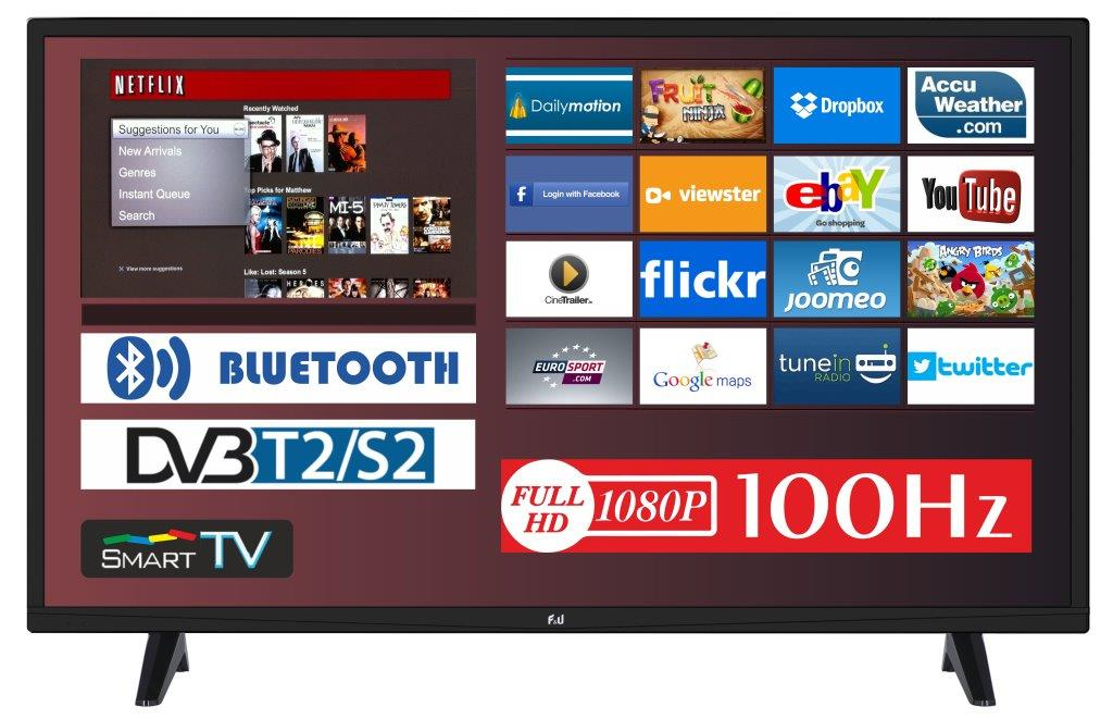 F&U FLS32206H SMART LED TV 32 ιντσών