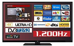 F&U FL2D5504UH 4K ULTRA HD Smart TV 55 ιντσών