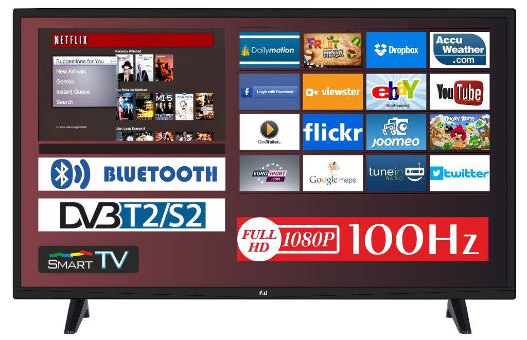 F&U FLS32210H SMART LED TV 32 ιντσών