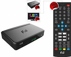 F&U MPF3574HU Δέκτης Ψηφιακής τηλεόρασης HD DVB-T2 με τηλεχειριστήριο 2 χρήσεων (Τηλεόραση και δέκτης)