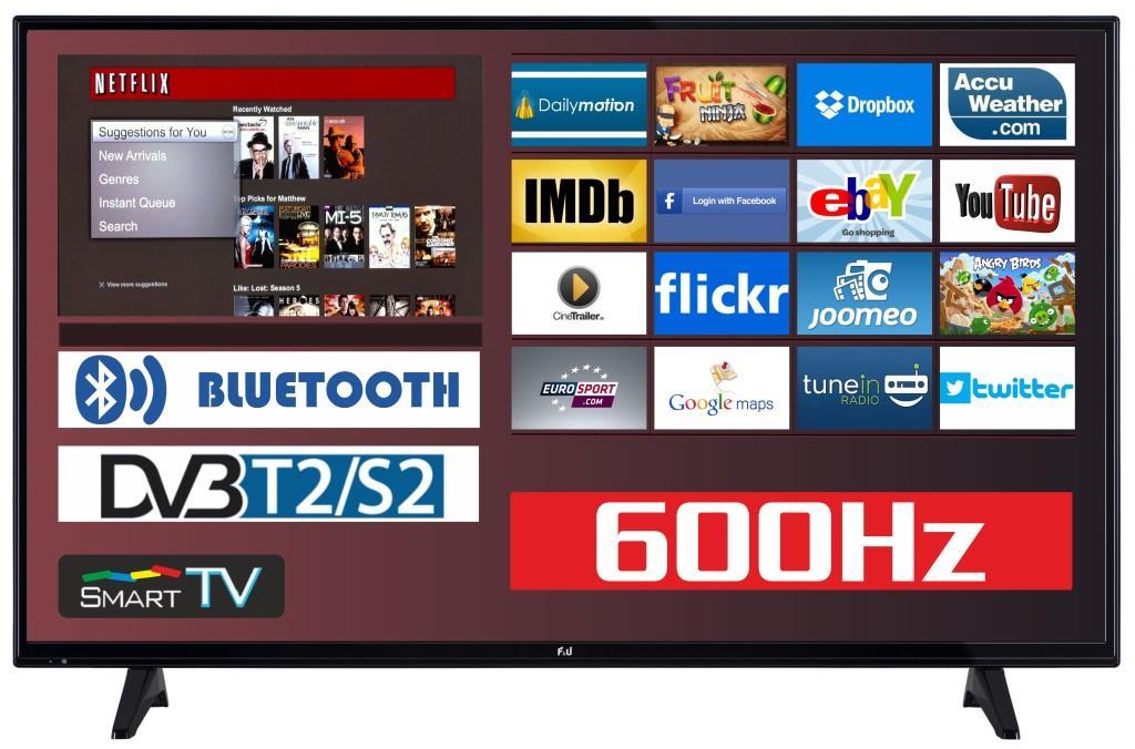 F&U FLS48204 Smart LED TV 48 ιντσών