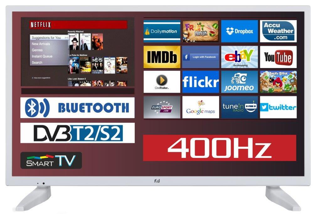 F&U FLS32286WH SMART LED TV 32 ιντσών