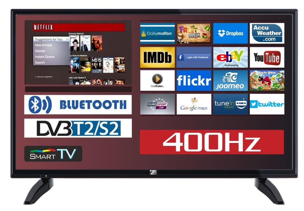 F&U FLS32215 SMART LED TV 32 ιντσών