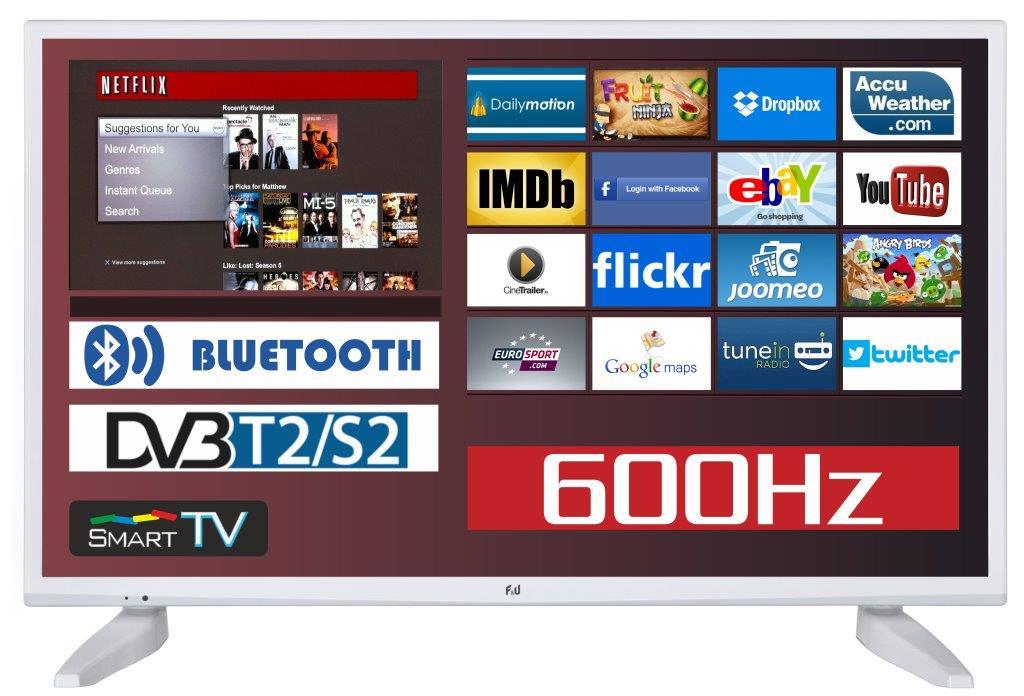 F&U FLS43286WH Smart LED TV 43 ιντσών
