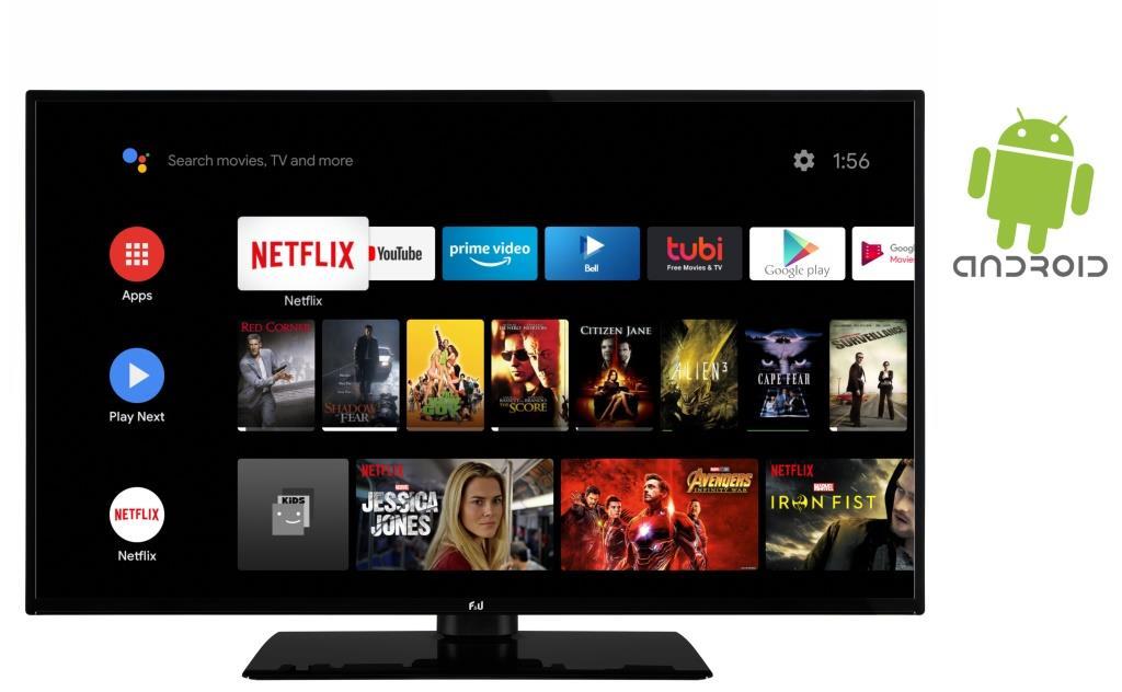 F&U FLA4320UH 4K ULTRA HD Android TV 43 ιντσών