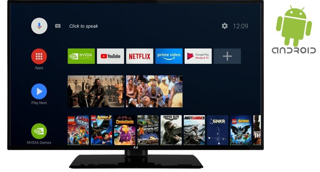 F&U FLA5020UH 4K ULTRA HD Android TV 50 ιντσών