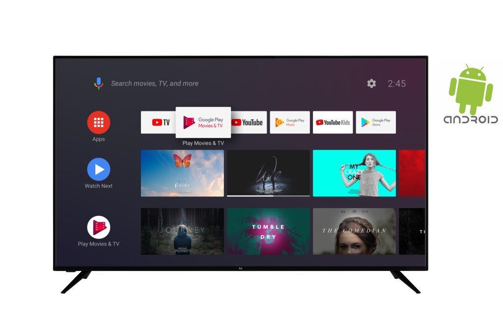 F&U FLA6520UH 4K ULTRA HD Android TV 65 ιντσών