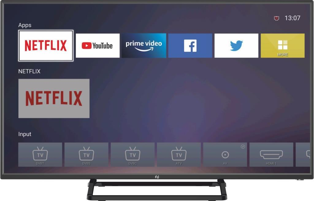 F&U FLS40120H SMART LED TV 40 ιντσών
