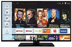 F&U FL2D4309UH 4K ULTRA HD Smart TV 43 ιντσών