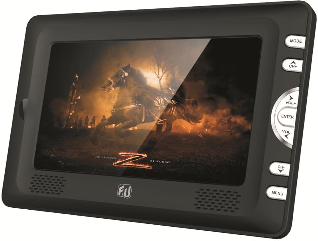 F&U MPF77401 Φορητή Τηλεόραση 7 ιντσών