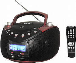 F&U RCD9031MUC Φορητό Ραδιο-CD με USB/Card Reader