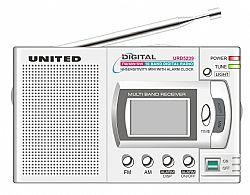 UNITED URD5239 Φορητό ραδιόφωνο