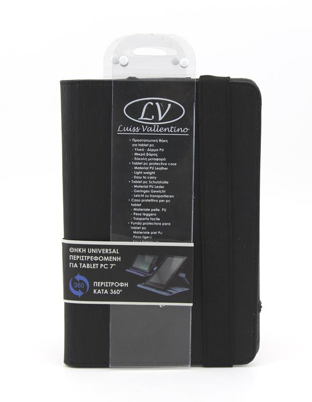 TBC3830 Universal Θήκη για Tablet PC 7 ιντσών (Μαύρο χρώμα)