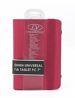 TBC3822 Universal Θήκη για Tablet PC 7 ιντσών (Ροζ χρώμα)