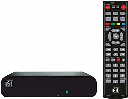 F&U MPF3384 Δέκτης ψηφιακής τηλεόρασης SD με τηλεχειριστήριο 2 χρήσεων (Τηλεόραση και δέκτη)