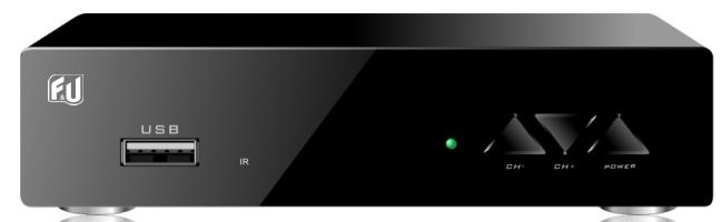 F&U MPF3471H Δέκτης Ψηφιακής τηλεόρασης HD