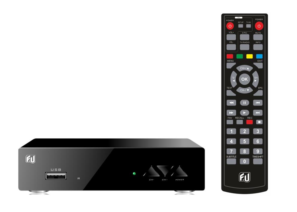 F&U MPF3569HU Δέκτης Ψηφιακής τηλεόρασης HD με τηλεχειριστήριο 2 χρήσεων (Τηλεόραση και δέκτης)